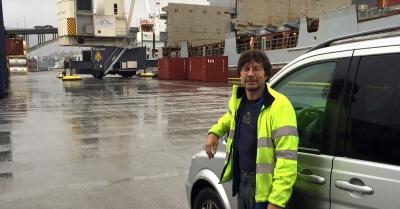 Hundrevis av containere blir sjekket av Tor i Bergen