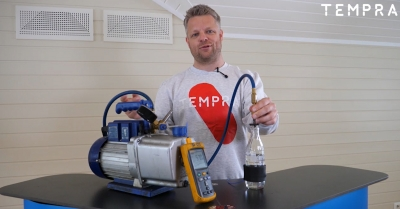 Hva gjør egentlig en kuldemontør? Se eksperiment!